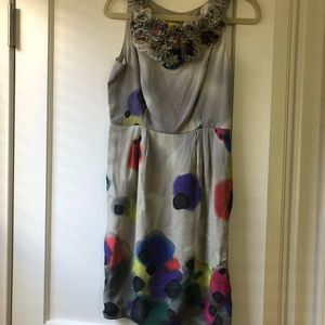 Catherine Maeldrino watercolor dress